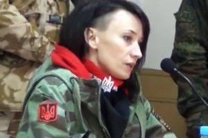 Украинская неонацистка призвала мстить жителям Донбасса через беженцев