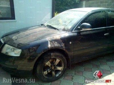 В Николаеве жгут машины волонтеров, помогающим хунте