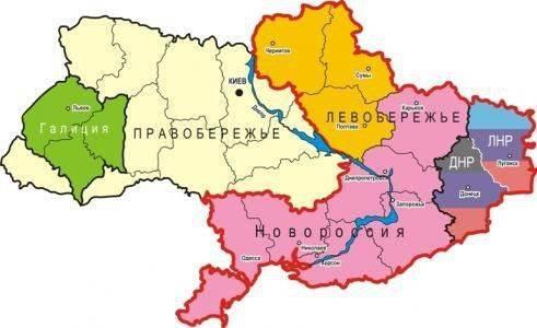 Сценарии будущего раздела Украины