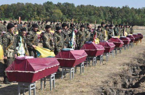 Украина создает военное кладбище на 250 тысяч могил, – администрация Президента
