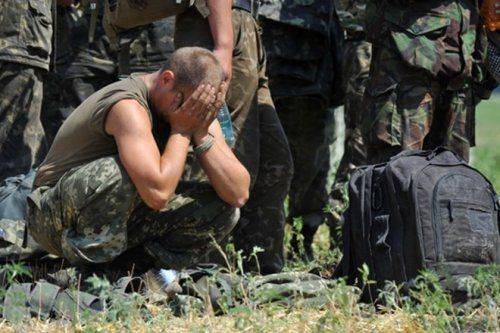 Перед смертью солдат АТО попросил позвонить маме