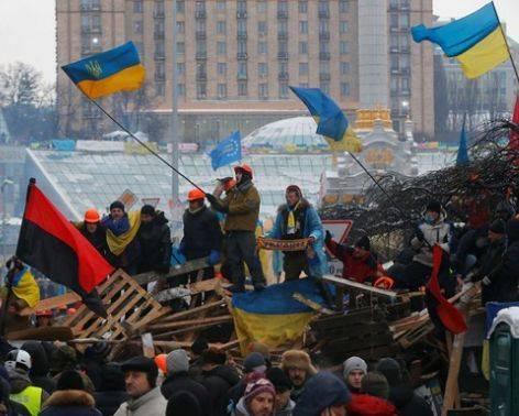Опрос: Жители Украины винят власти в преступлениях прошлого года