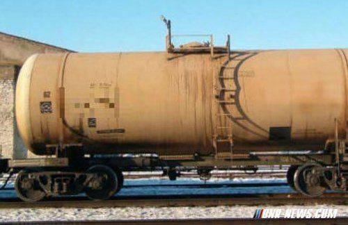 Заминированная газовая цистерна прибыла в Россию c Украины