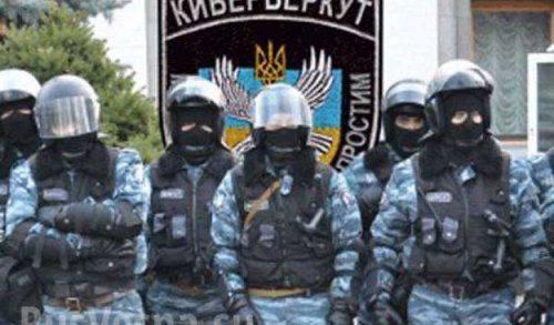 Кибер Беркут публикует данные на киевскую хунту