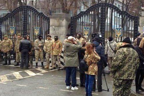 500 айдаровцев пришли за головой Порошенко