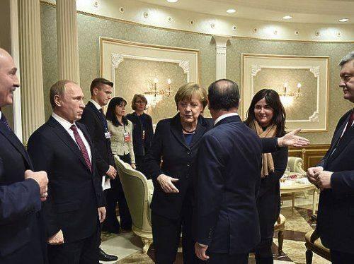 """Переговоры в Минске: """"Путин был в хорошем настроении, Порошенко надо было успокаивать"""""""