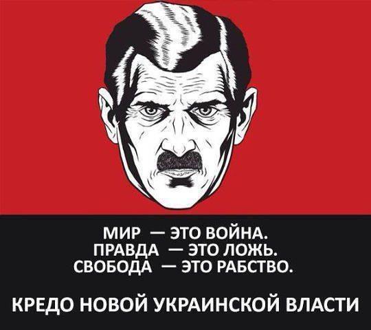 Украина готова к диктатуре либерального фашизма