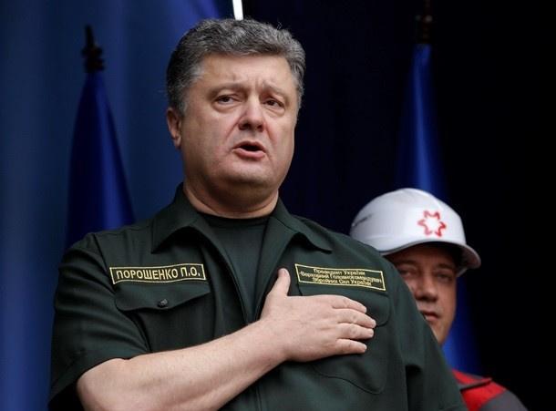 Порошенко решил вступить в НАТО вместе с Донецком и Севастополем