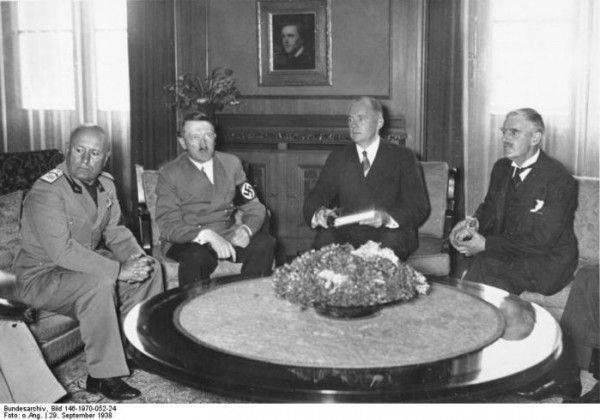 Международные договоры с нацистской Германией