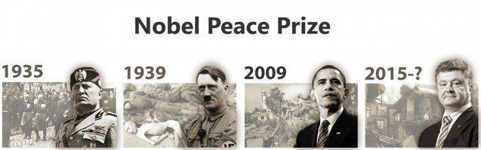 США номинируют Порошенко на Нобелевскую премию мира