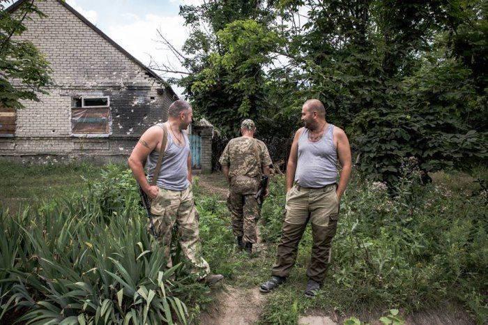 Аль-Джазира рассказала про убогую жизнь киевских военных, которые с голодухи едят собачье мясо