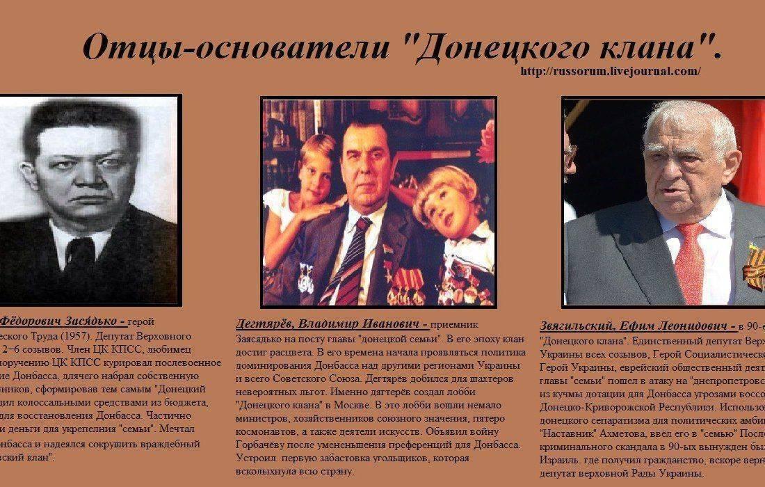Донецкий клан или кто толкнул Украину в пропасть.