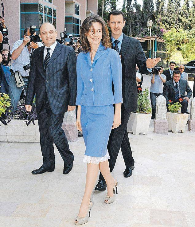 Жена Башара Асада - путь от Розы пустыни до агента МИ6
