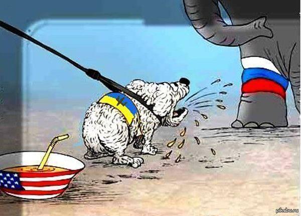 От украинской  моськи  ничего не зависит. Вообще