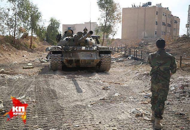 Блицкрига в Сирии не будет: армия не бьет, а давит