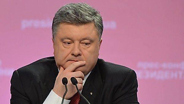 Украина трещит по швам, а Порошенко играет с народом в «слепой траст»