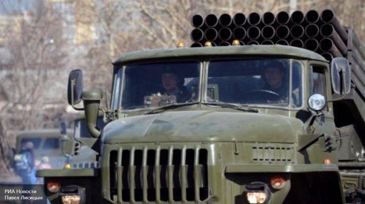 Украинская сельхозтехника стреляет 122-м калибром