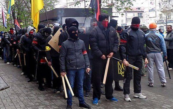 Новогодний террор «Правого сектора» в Киеве