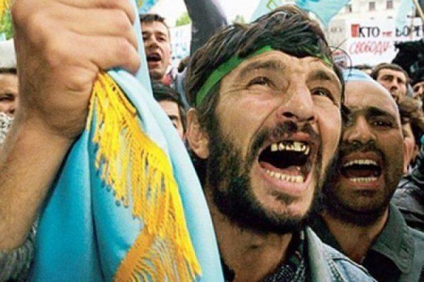 Новая порода освободителей Крыма – на Херсонщине «завелись» татаробандеровцы