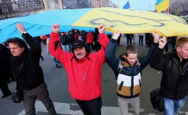 Тризуб над Донбассом и Крымом