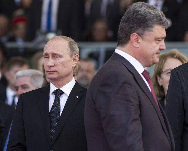 Новая петиция: украинцы призвали Порошенко не пожимать руку Путину. Никогда