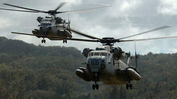 Поехали: Турция сбила два американских военных вертолета в Сирии, 12 морпехов погибли