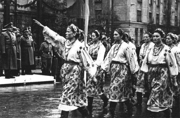 В Киеве напомнили, что бандеровцы уже интегрировали Украину в Европу Гитлера
