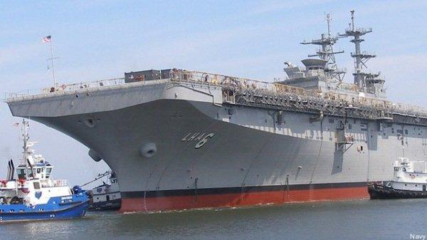 Универсальный десантный «суперкорабль» America: плавающая фантастика ВМС США