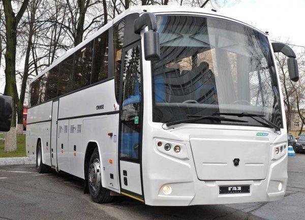 «Группа ГАЗ» представляет новый газовый автобус