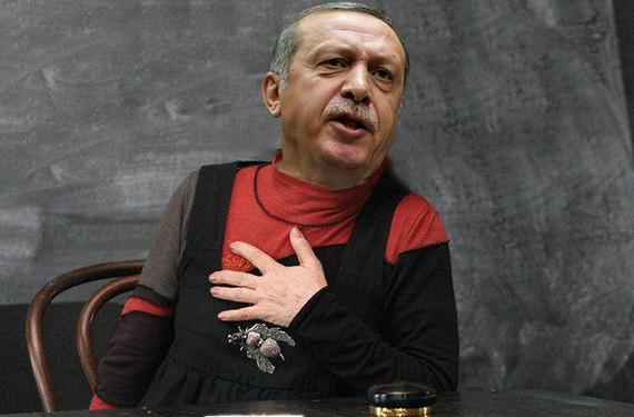 Сказ о том, как Эрдоган письмо Путину писал. И реакция чубатых переможников…Древний Укр…