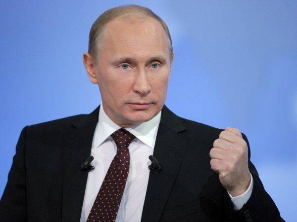 Путин: Вы санкций хотите? Их есть у меня!