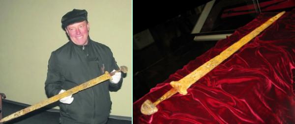 Древнее пророчество сбывается: найден меч Великого Князя Светослава Хоробре