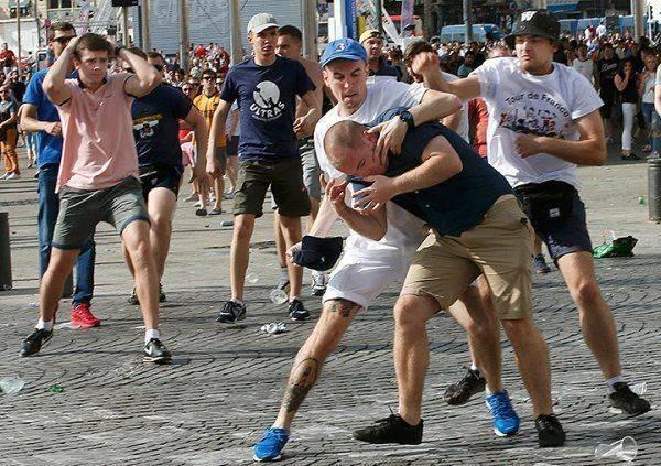 Лидер английских фанатов негодует: «Русские болельщики как будто месяцами тренировались»