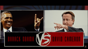 Обама VS Кэмерон