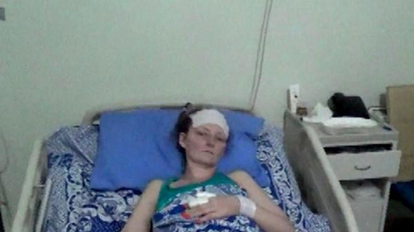 Украинку защитившую своих детей, бросят в Сирии?
