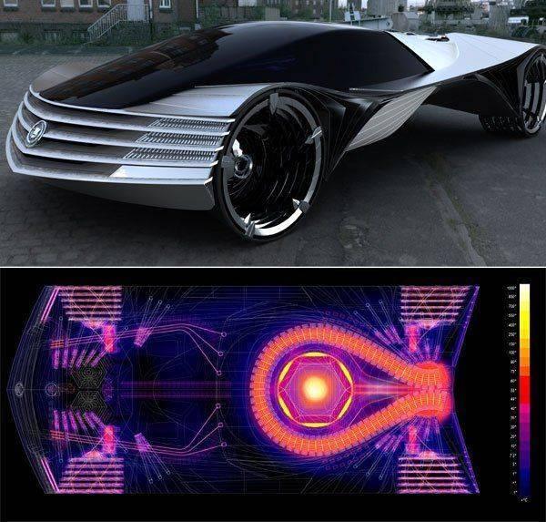 Атомный автомобильчик.