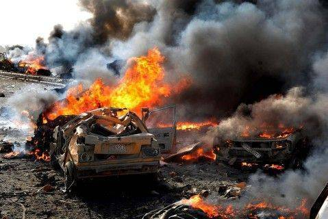 Террористы сняли свою смерть от авиаудара