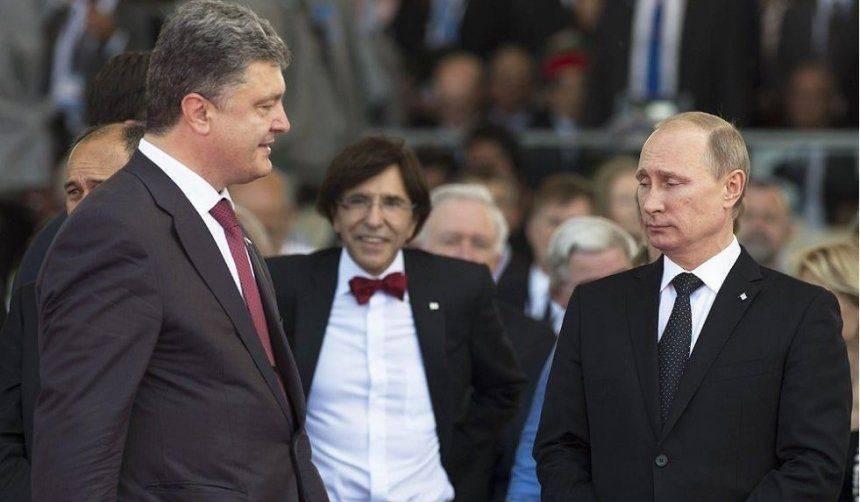 Раскрыты шокирующие детали разговоров Путина с Порошенко по Донбассу
