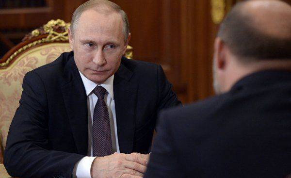 Загадочные фотографии президента Путина