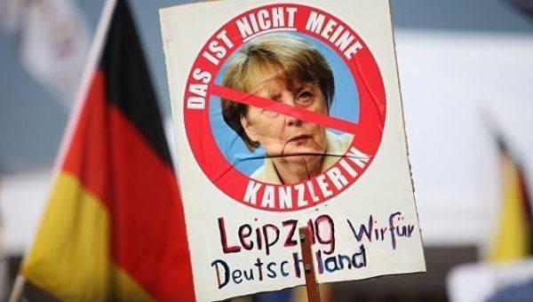 Канцлер Германии Меркель стала «хромой уткой»