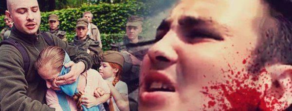 """Нацист, напавший на девочку на шествии """"Бессмертного полка"""", стал инвалидом"""