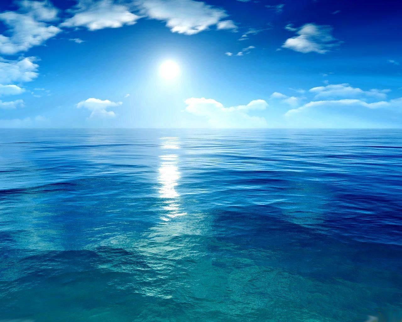 фото океан тихий