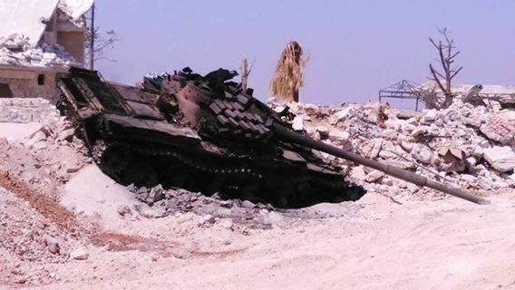 90 трупов боевиков остались лежать у военной базы