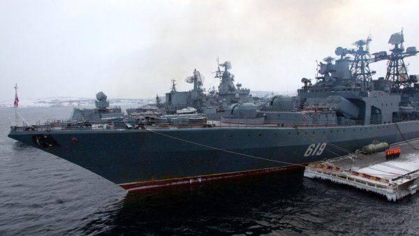 НАТО ходит вокруг «Адмирала Кузнецова»