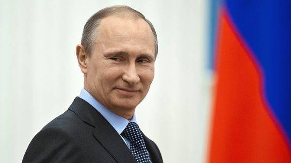 Звёздный час Путина