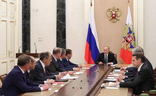 Новости Сирии стали причиной экстренного совещания: президент РФ собрал Совбез
