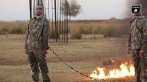 Террористы ИГИЛ заживо сожгли двоих похищенных турецких солдат в Алеппо