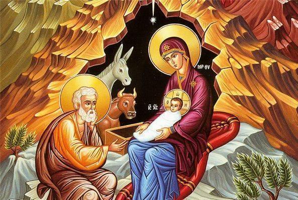Бог пришел на землю: Поздравление с Рождеством Христовым