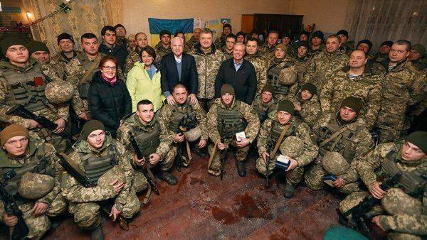 Маккейн отправил Путину открытку из Донбасса