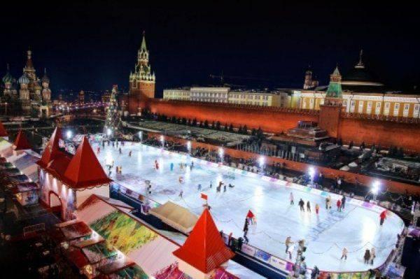 Немецкое ТВ шокировала красота рождественских празднований в Москве